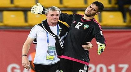 """مدرب """"الأسود"""" يعرب عن قلقه من جلوس الناظوري """"منير المحمدي"""" في الإحتياط"""