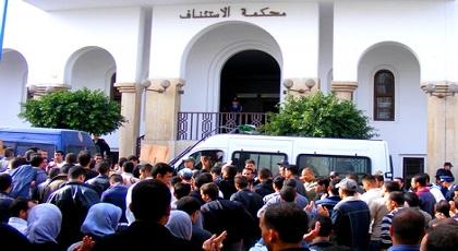 استئنافية الحسيمة توزع 20 سنة سجنا نافذا على 5 معتقلين على ذمة حراك الريف