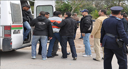 بعد أن دعوا للتظاهر عبر الفايسبوك.. السلطات تعتقل خمسة أشخاص بتارجيست