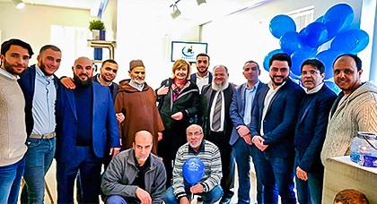 جمعية الرحمة للأعمال الإجتماعية الخيرية ببلجيكا تفتتح فرعا لها ببروكسيل