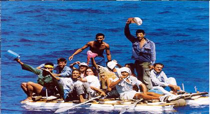 البحرية الملكية تنجح في انقاذ 16 مهاجرا سريا في سواحل الحسيمة