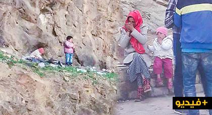 مأساة.. أم عازبة وأطفالها الأربعة تعيش في الشارع وسط الذئاب البشرية