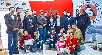 أمسية تحفيزية لفائدة تلاميذ جماعة تزاغين من تنظيم جمعية النجاح