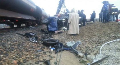 ضحية جديدة تنضاف الى حصيلة ضحايا حادث قطار طنجة