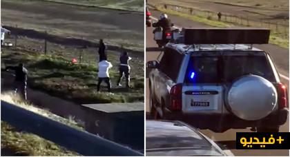 مثير.. الدرك الملكي يستعمل الرصاص في مطاردة هوليودية لايقاف سائق حافلة بالطريق السيار