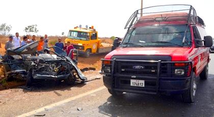 أبرزها بحوادث السير.. الوقاية المدنية بإقليم الدريوش تعرض حصيلة تدخلاتها لسنة 2017