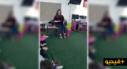 مربية أجيال تستخدم أغنية لأم كلثوم لتلقين الأطفال الحس الموسيقي