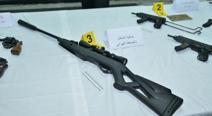 الأمن يكشف تفاصيل جديدة بخصوص العثور على أسلحة في شقَّة بالعاصمة