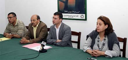 النقابة الوطنية للصحافة المغربية تحاكم حرية الصحافة في تقريرها السنوي