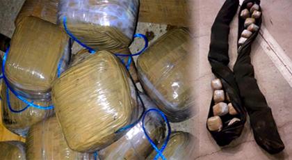 """حجز 30 كلغ من الحشيش في شاحنة للنقل الدولي محملة بفاكهة """"لافوكا"""" بميناء طنجة"""