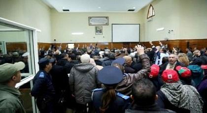 سيرة الخطابي وصورة محمد الخامس تثيران الفوضى في محاكمة الزفزافي