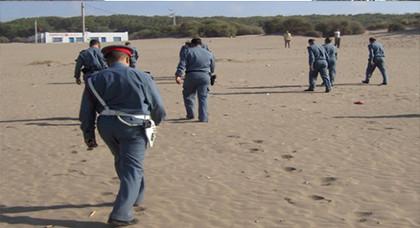 اعتقال ثمانية دركيين بتهمة التخابر مع تجار مخدرات