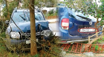 بالصور.. اعتقال رئيس جماعة بعد ارتكابه لحادثة سير بسيارة الجماعة وهو في حالة سكر طافح