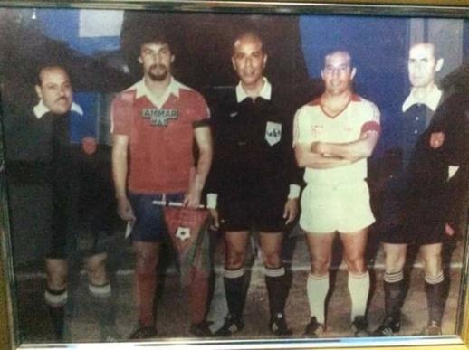 """الحسيمة تودع """"مولاي عمار"""" أبرز وجوه كرة القدم بالمنطقة"""