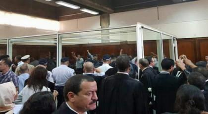 المحكمة تعرض شريط إحتراق إقامة الشرطة بامزورن على أهباض وهذا ما قاله