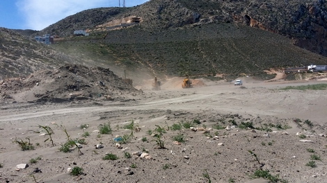 السلطات المختصة تشرع في تحرير الملك العام البحري بشاطئ أصفيحة بالحسيمة