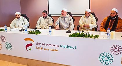 المجلس الأوروبي للعلماء المغاربة ينظم بمعهد جسر الأمانة بأنفرس المرحلة الأولى من إقصائيات مسابقة*مواهب في تجويد القرآن الكريم