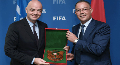 داروها بينا الفيفا.. إضافة شرط تعجيزي سيقصي ملف المغرب للرشح لكأس العالم