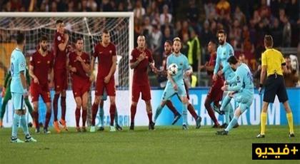 """شاهدوا الهزيمة المذلة لبرشلونة وإقصائها من """"الشمبيونسليغ"""" بثلاثية"""