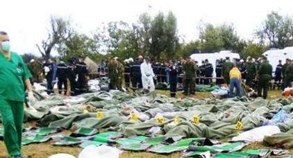 إرتفاع عدد ضحايا سقوط الطائرة العسكرية الجزائرية إلى 257 قتيلا