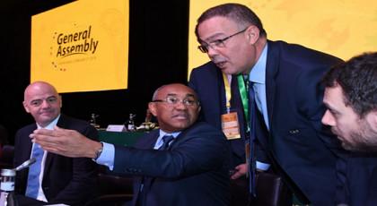المغرب يخسر أصوات 10 دول في سباق استضافة المونديال