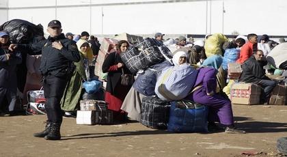 شرطة مليلية توضح أسباب منع المغاربة من نقل المقتنيات عبر بني انصار