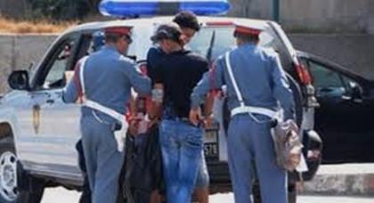 إعتقال شخصين ينشطان ضمن عصابة إجرامية بسلوان