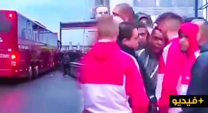 جماهير أجاكس أمستردام تعتدي على اللاعب حكيم زياش بالضرب