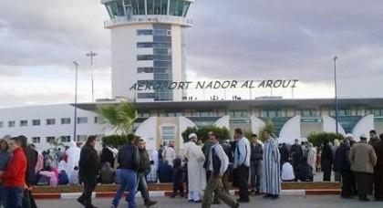 حوالي 52 ألف مسافر استعملوا مطار العروي الدولي خلال الشهر الماضي