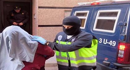 الشرطة الاسبانية تلقي القبض على مواطن مغربي مبحوث عنه بسبب 541 كيلو من الكوكايين