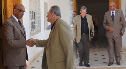 عامل إقليم الدريوش يستقبل السفير البلجيكي لدى المملكة المغربية وهذا ما دار بينهما