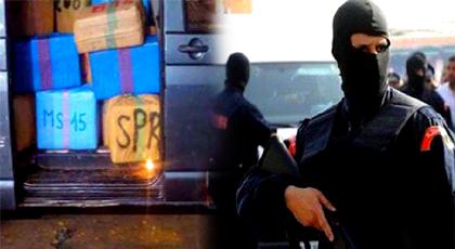 """محاكمة مفتش في جهاز الـ """"ديستي"""" ينحدر من الحسيمة بتهمة إفشاء السر المهني والاتجار الدولي في المخدرات"""