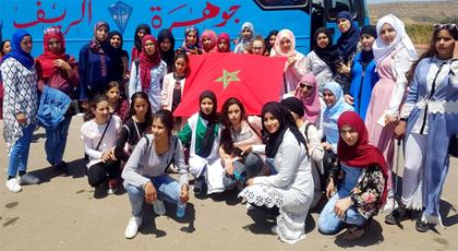 الجمعية الخيرية لدار الطالبة تفرسيت تنظم رحلة ترفيهية واستكشافية لنزيلتها إلى مناطق سياحية