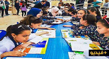 """إفتتاح """"شجرة الكتب""""بأزغنغان في وجه المواطنين والمتمدرسيين"""