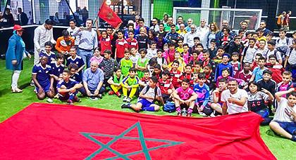 القنصلية العامة للمملكة المغربية ببروكسيل تنظم دوريا لكرة القدم لدعم ملف تنظيم المغرب لكأس العالم 2026
