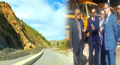 انهيارات جبلية بالطريق السريع تازة الحسيمة عبر الدريوش والوزير السابق للتجهيز في قفص الإتهام