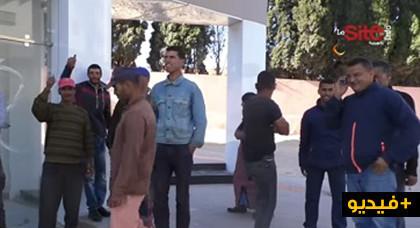 مثير بالفيديو: الملثمون المعتدون على طالبة آسفي: لقيناهوم كايمارسو الفساد ودارو الكاميلة كياكلو في رمضان