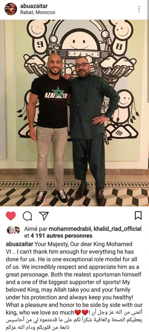 صورة جديدة للملك محمد السادس وأبو زعيتر تشعل مواقع التواصل الاجتماعي