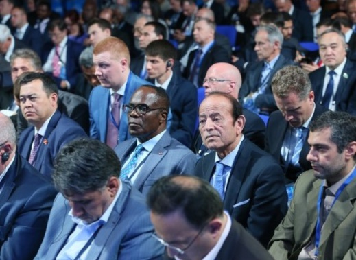 القيادي الناظوري عبد القادر سلامة يمثل البرلمان المغربي في منتدى دولي بروسيا