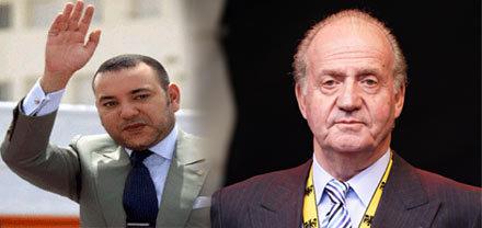 مباحثات هاتفية بين صاحب الجلالة الملك محمد السادس وجلالة الملك خوان كارلوس الأول