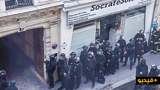 هذه هوية المسلح الذي احتجز رهائن بينهم حامل داخل متجر في العاصمة الفرنسية باريس