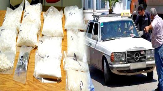 جمارك زايو تحجز كمية مهمة من الكوكايين على متن سيارة أجرة والشرطة القضائية تدخل على الخط