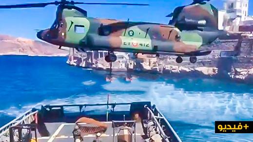 مثير..  شاهدوا تحركات مشبوهة للجيش الاسباني بالقرب من سواحل الحسيمة