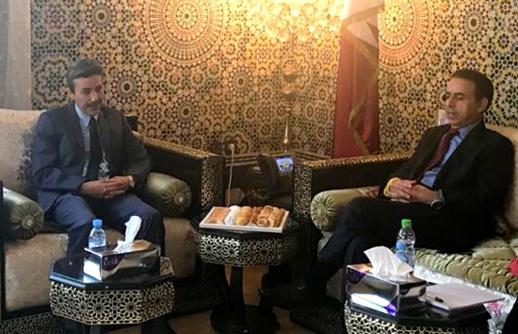 السفير القطري يستقبل برلماني الدريوش الطيب البقالي بمقر السفارة بالرباط وهذا ما دار بينهما