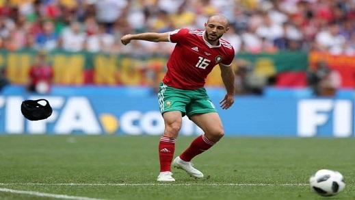 هكذا أبكى أمرابط المغاربة بمقولته: خليوني نلعب ضد البرتغال ويلا مت تهلاو لي فاولادي ومراتي وأمي