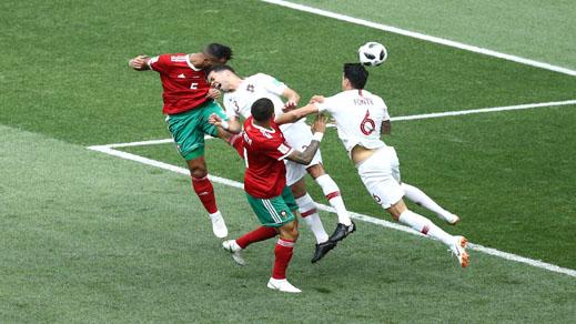 الفيفا تحقق في وقوع تشويش محتمل خلال مباراة المغرب ضد البرتغال