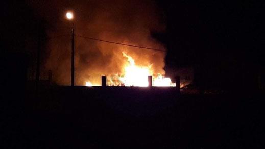 إندلاع حريق بإعدادية في إمزورن عقب إعلان أحكام السجن في حق الزفزافي ورفاقه