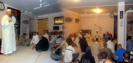 مسجد الرحمة بالدانمارك يحيي ليلة القدر المابركة