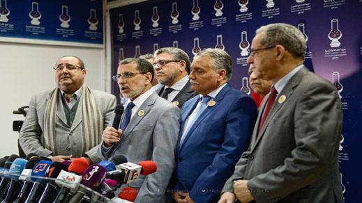 أحزاب الأغلبية تعلن موقفها من الأحكام القضائية في حق معتقلي الريف