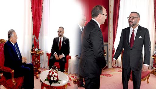 محمد السادس يعود من فرنسا ويستقبل بنشماش و بنعبد الله في القصر الملكي بالرباط